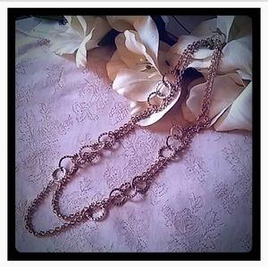 Banana Republic Modern Rings Layer Necklace